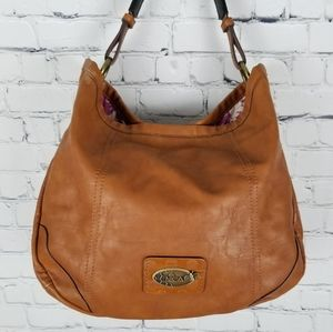 NICA   slouchy snap close hobo bag purse